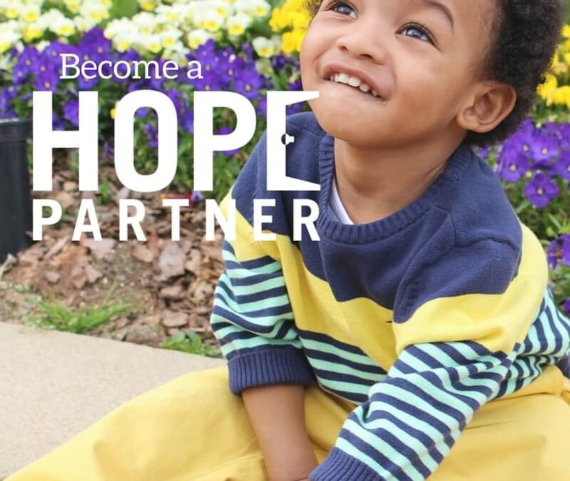 Join Us As A Hope Partner